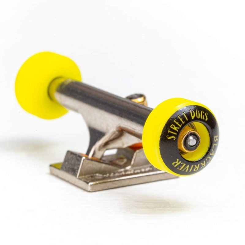Blackriver Streetdogs Yellow Fingerboard Wheels Canada Pickup Vancouver