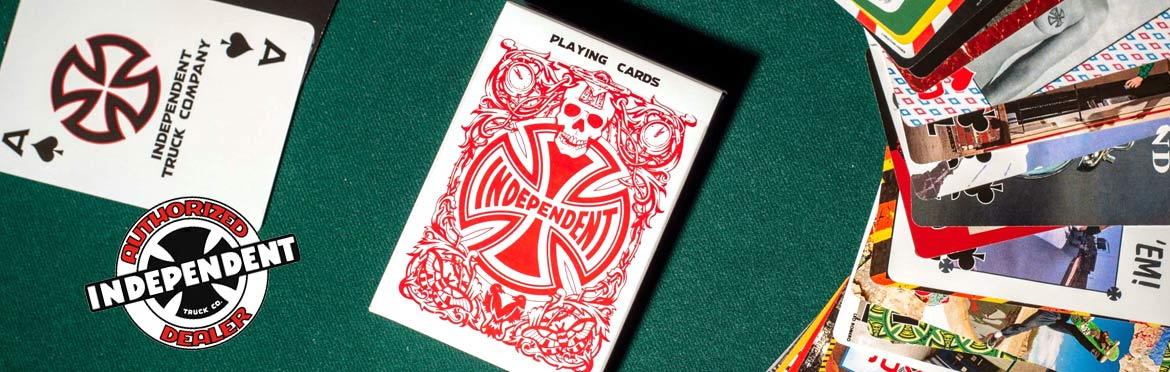 Independent Trucks Playing Cards Canada Pickup Vancouver