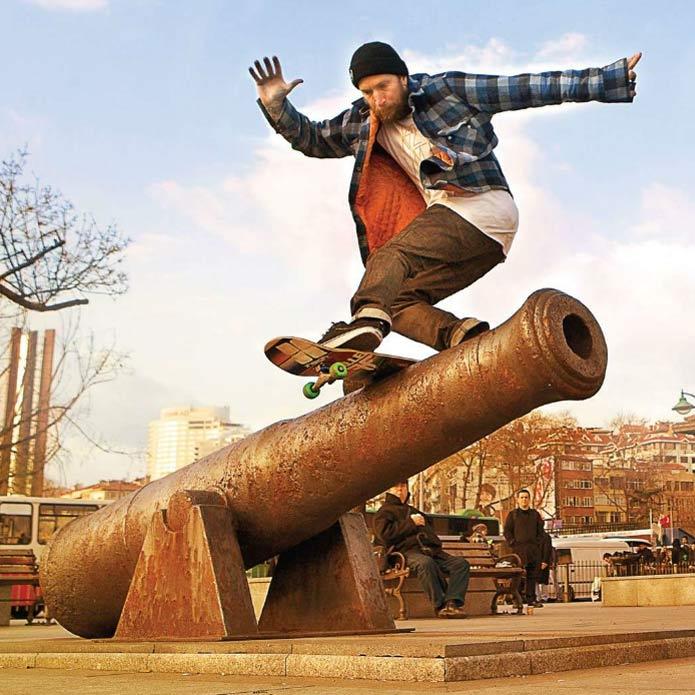 Jamie Thomas Skateboarding Canada Pickup Vancouver