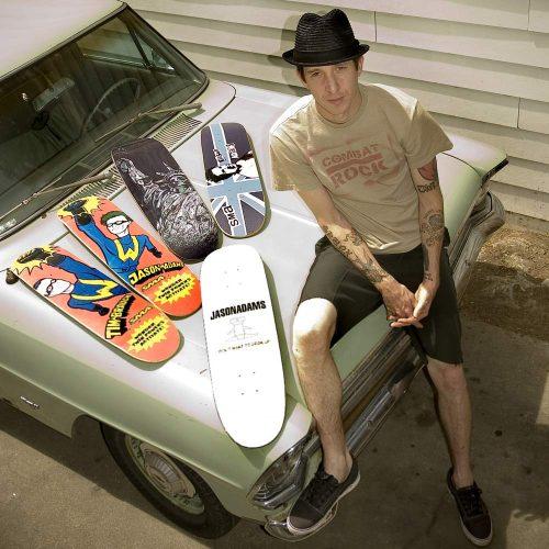 Jason Adams Skateboarding Canada Pickup Vancouver