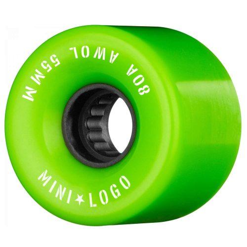 Mini Logo AWOL 55mm 80a Green Skateboard Wheels Canada Pickup Vancouver