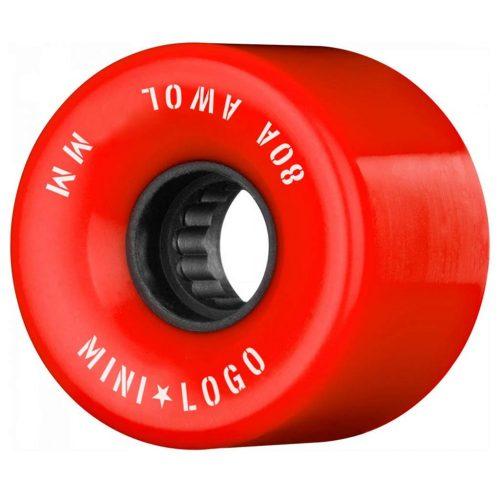Mini Logo AWOL 59mm 80a Red Skateboard Wheels Canada Pickup Vancouver