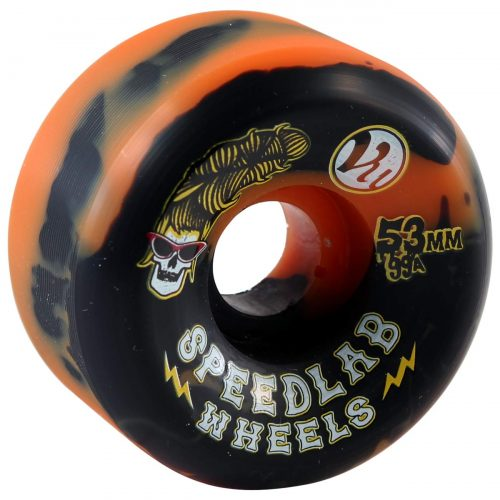 Speedlab Beehive 53mm 99a orange black Skateboard Canada Pickup Vancouver