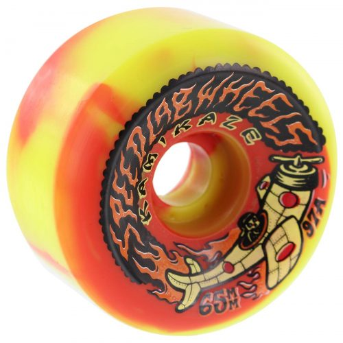 Speedlab Kamikaze Wheels 65mm 97a Orange Yellow Skateboard Canada Pickup Vancouver
