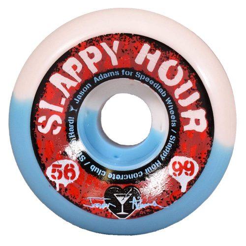 Speedlab Slappy Hour Jason Adams 56mm 99a Blue White Skateboard Wheels Canada Pickup Vancouver