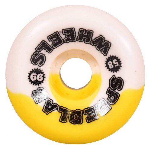 Speedlab Slappy Hour Jason Adams 58mm 99a Yellow White Skateboard Wheels Canada Pickup Vancouver