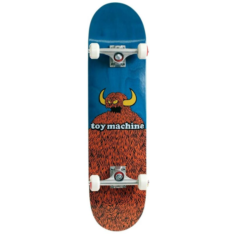 Toy Machine Furry Monster 8.25 x 31.88 Complete Skateboard Canada Pickup Vancouver