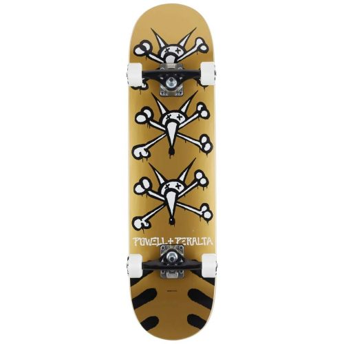 """Vato Rats Gold Complete Powell Peralta 31.45"""" x 8"""" Skateboard Canada Pickup Vancouver"""