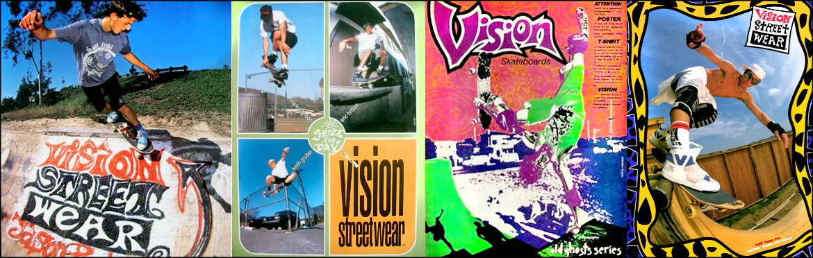 Vision Skateboards Reissue Canada Pickup Vancouver