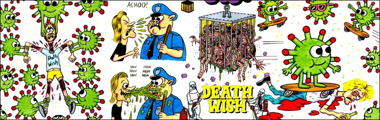 Deathwish Skateboards Sticker Canada Pickup Vancouver
