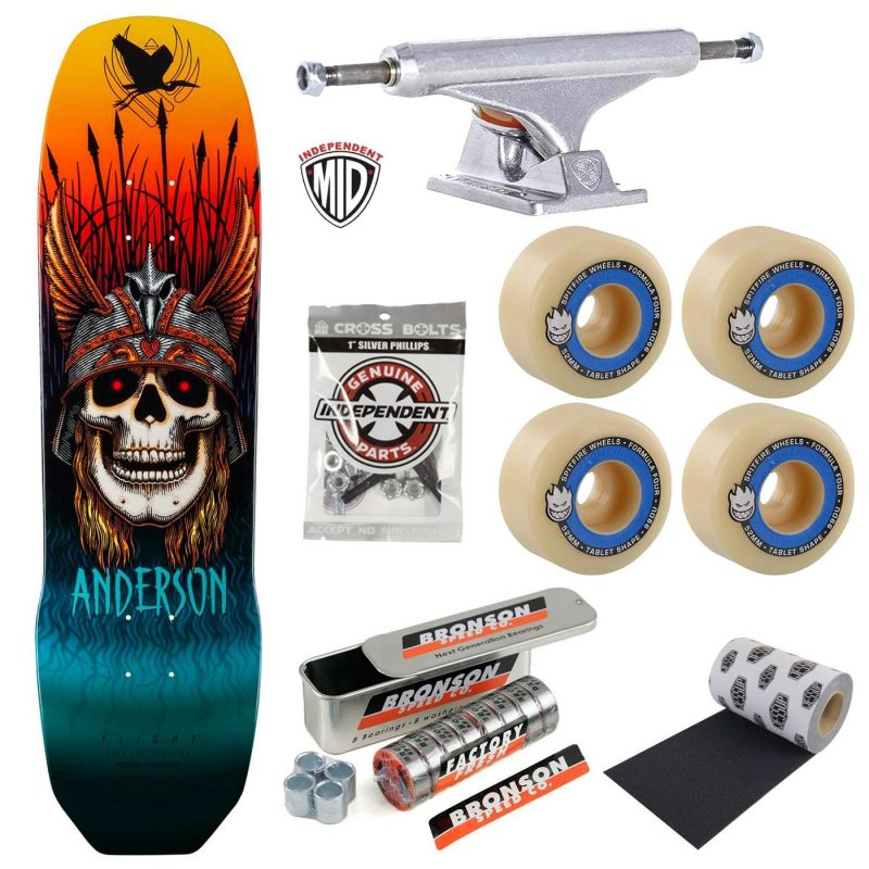 Powell Peralta Andy Anderson Complete Bronson G3 Independent Mids Spitfire Tablets Premium Skateboard Canada Pickup Vancouver