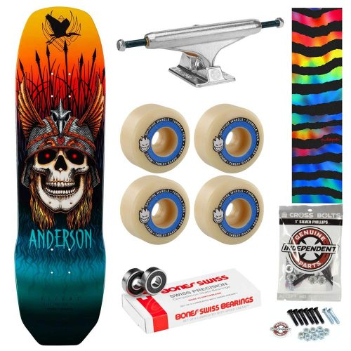 Powell Peralta Andy Anderson Complete Bones Swiss Independent Titanium Spitfire Tablets Premium Skateboard Canada Pickup Vancouver
