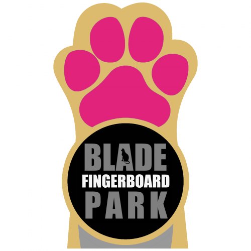 Blade Fingerboard Pro Park Paw Sticker Canada Online Sales Vancouver Pickup