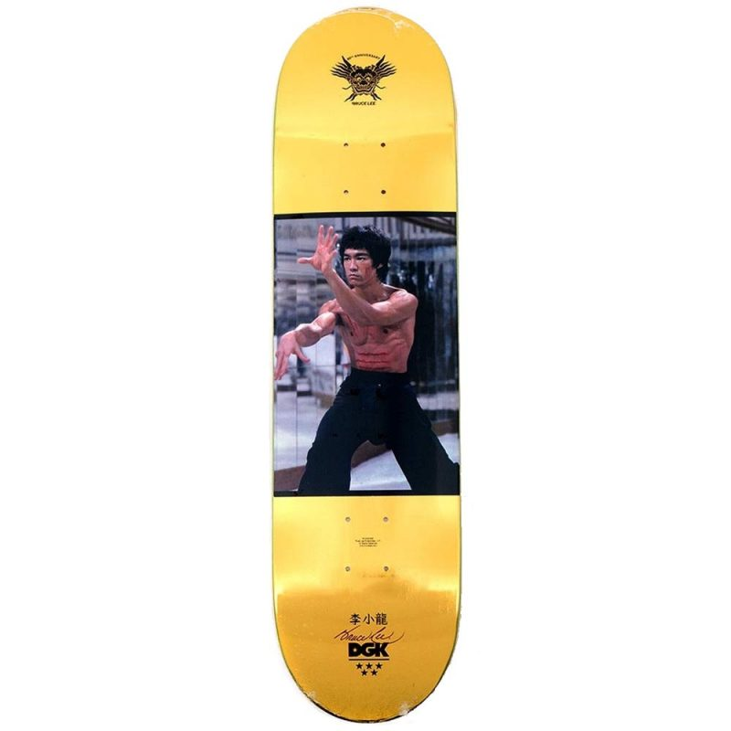 DGK Bruce Lee Like Echo Foil 8.06 x 31.875 Skateboard Deck Canada Pickup Vancouver