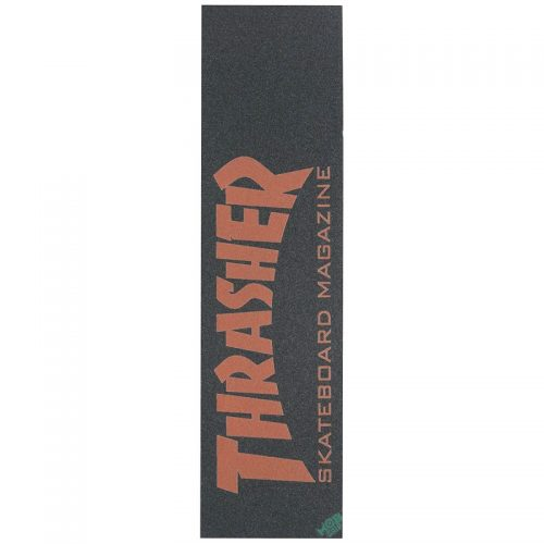 Mob Grip Thrasher Mag Logo Griptape Orange Skateboard Canada Pickup Vancouver