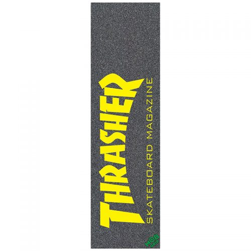 Mob Grip Thrasher Mag Logo Griptape Yellow 9 x 33 Skateboard Canada Pickup Vancouver