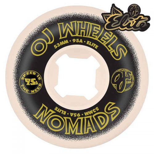 OJ Elite Nomads 53mm 95a White Skateboard Wheels Canada Pickup Vancouver