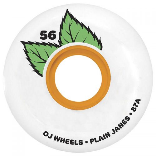 OJ Keyframe 56mm 87a White Skateboard Wheels Canada Pickup Vancouver