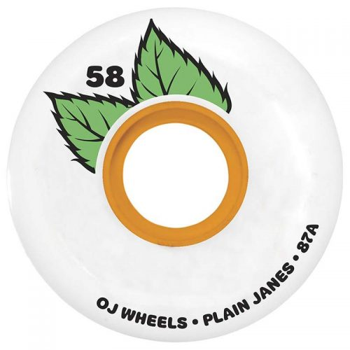 OJ Keyframe 58mm 87a White Skateboard Wheels Canada Pickup Vancouver
