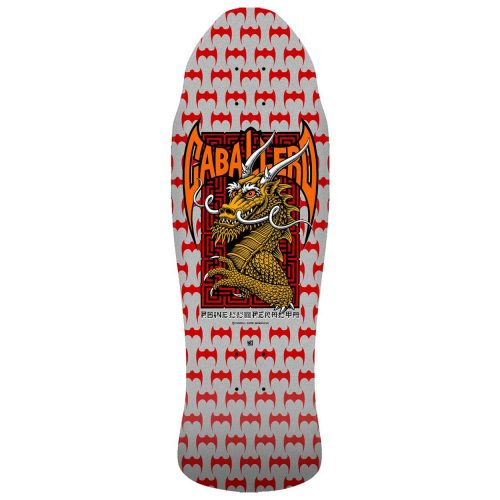 Powell Peralta Pro Steve Caballero Street Skateboard Deck SILVER 9.625 x 29.75 Reissue Canada Pickup Vancouver