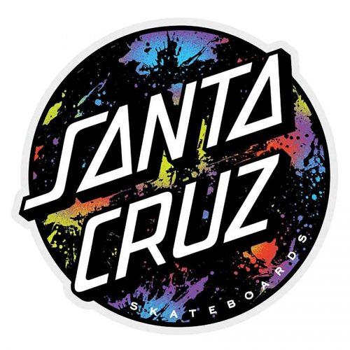 Santa Cruz Dot Splatter Sticker Canada Vancouver Pickup
