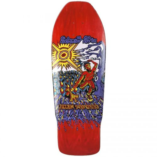 Schmitt Stix Allen Midgette Flower Picker OG Concave Deck Red 9.875 x 31 WB 15.5 Reissue Skateboard Deck Canada Pickup Vancouver