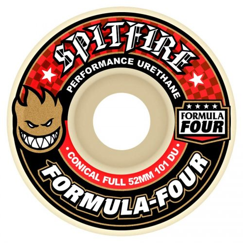 Spitfire Formula Four Conical Full 52mm 99a Natural