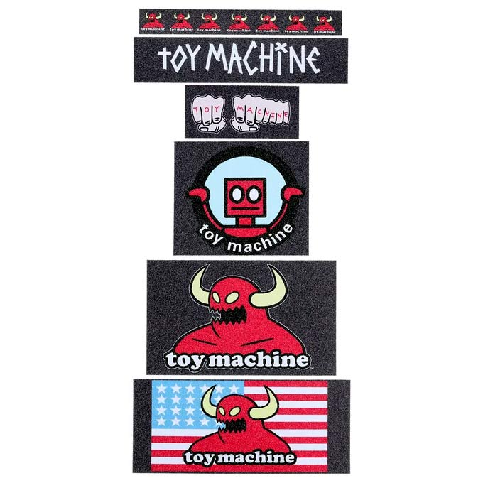 Toy Machine Grip Tape Sticker Pack Canada Vancouver Pickup