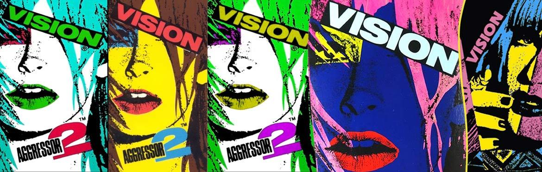 VISION AGGRESSOR Reissue Skateboard Canada Pickup Vancouver