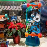 10.25 x 29.75 Vision Skateboards Mark Gator Rogowski Gator II White Fade Blue//Purple//Pink Old School Skateboard Deck
