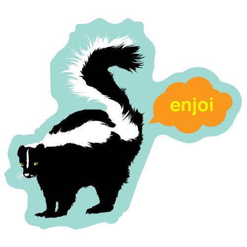 Enjoi Skunk Fart Sticker Canada Vancouver Pickup
