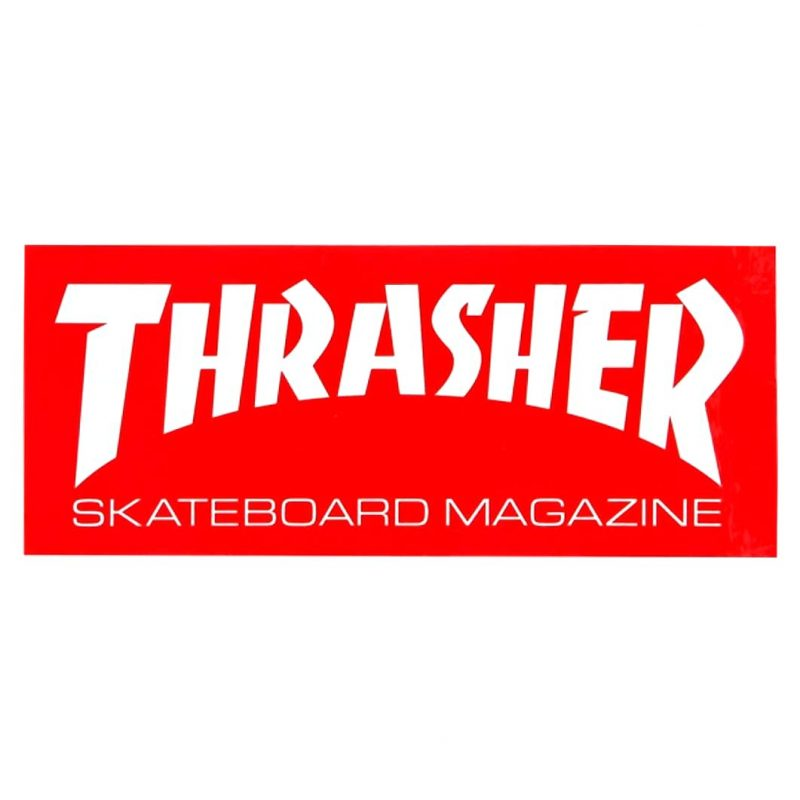 Thrasher Mag Sticker Red Canada Vancouver Pickup