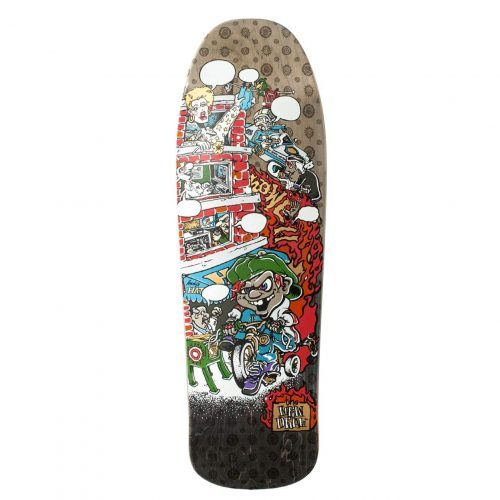 New Deal Howell Tricycle Kid Metallic Deck Skateboard Vancouver Local Pickup Canada Online