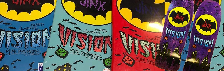 Vision Jinx Skateboard Canada Pickup Vancouver