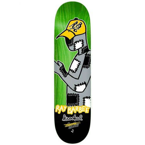 Krooked Ray Barbee Redux Skateboard Deck 8.25 x 32 Canada Pickup Vancouver