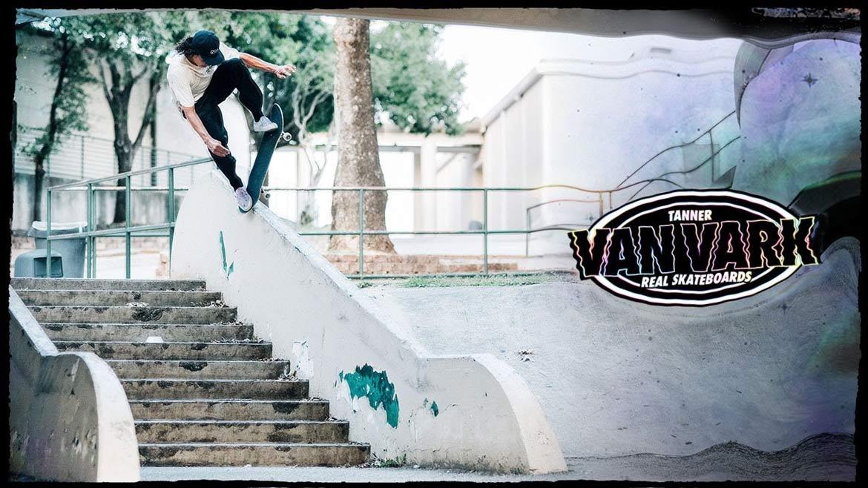 Real Skateboards Tanner Van Vark Pro Canada Pickup Vancouver