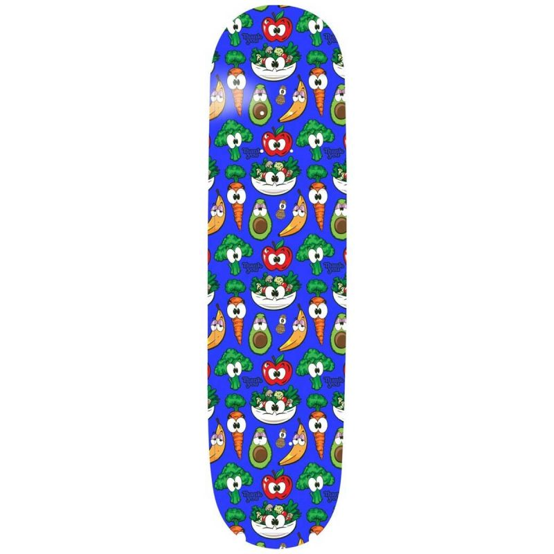 Thank You Torey Pudwill Health Nut Deck 8.5 x 32.5 Blue Skateboard Canada Pickup Vancouver