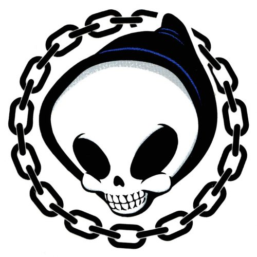 Blind Chain Reaper Sticker Skateboard Canada Pickup Vancouver