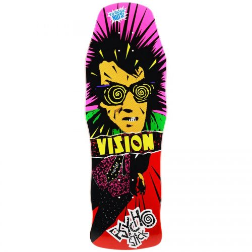 Vision Psycho Stick Reissue Skateboard Canada Pickup Vancouver