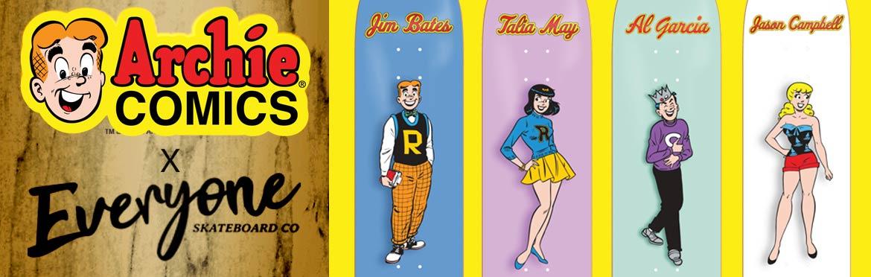 Archie Comics Skateboard Canada Pickup Vancouver