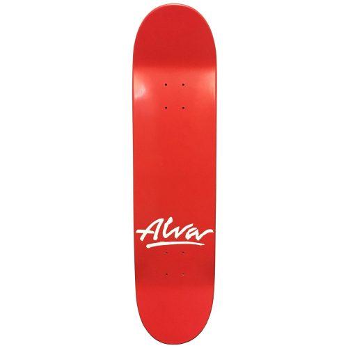Alva Skates Scratch Pop 8.0 X 31.06 deck red Skateboard Canada Pickup Vancouver