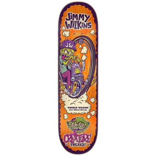 "Creature Jimmy Wilkins Freaks Deck 8.375"" x 32"" Skateboard Canada Pickup Vancouver"