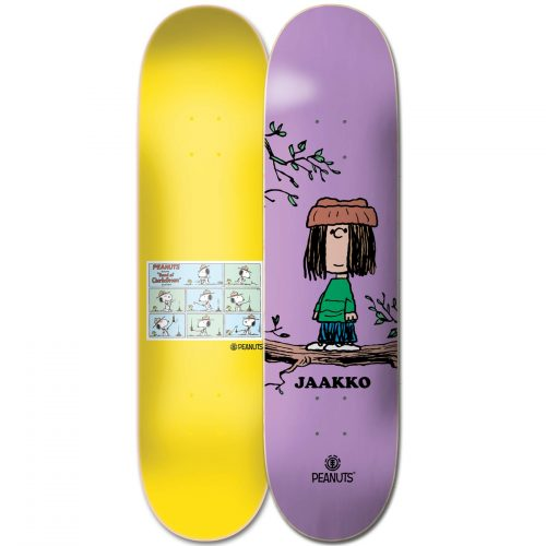 "Element X Peanuts Jaako Ojanen Eudora Deck 8.25"" x 31.933"" Purple Skateboard Canada Pickup Vancouver"