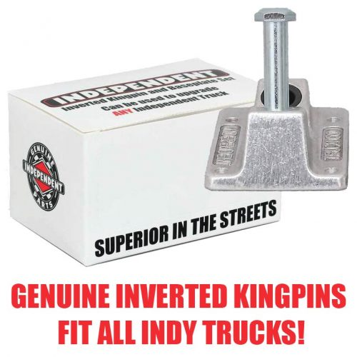 Independent Inverted Kingpin Shaft Nut and Baseplate Upgrade Set Fits Standard Hollow Forged Titanium Mid Low Skateboard Trucks Canada Pickup Vancouver