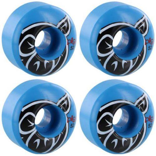 Pig Head Proline Classic Shape 52mm 101a Blue Skateboard Wheels Canada Pickup Vancouver