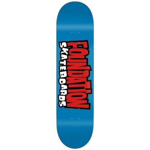 Foundation from the '90s deck 8.25 x 31.88 Blue Skateboard Canada Pickup Vancouver