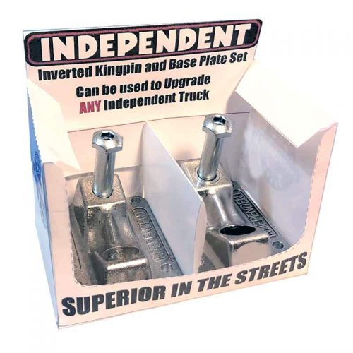 Independent Inverted Kingpin and Baseplate Set Skateboard Trucks Canada Pickup Vancouver