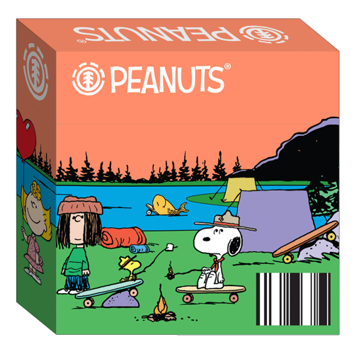 Element Wheels Charles Schulz Peanuts Gang Canada Pickup Vancouver