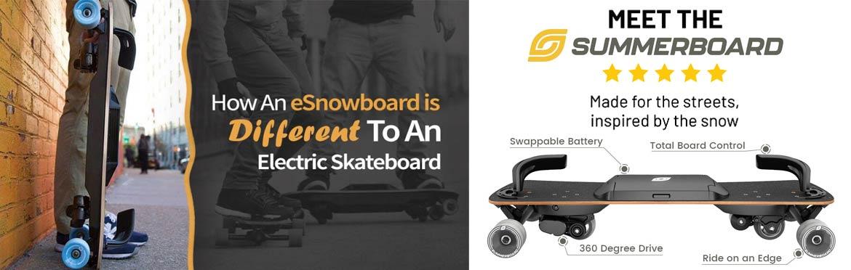 Summerboard E Snowboard Canada Pickup Vancouver
