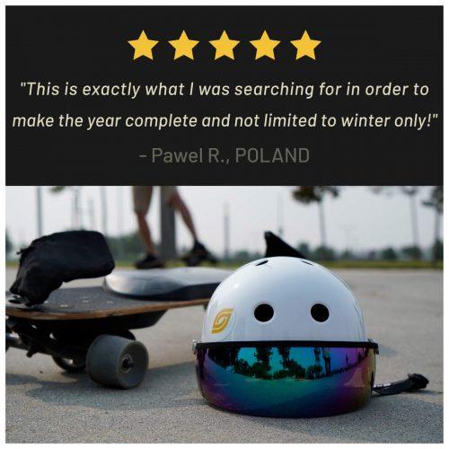 5 Star Reviews Summerboard E-snowboard Canada Pickup Vancouver